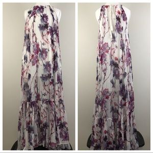 Free People Juno Floral Maxi Dress Size S 0089